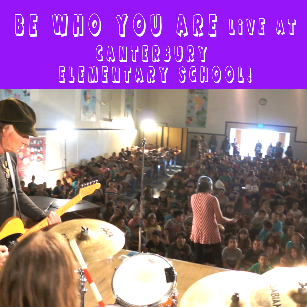 Thumbnail for the post titled: Be Who You Are Live @ Canterbury Elementary!
