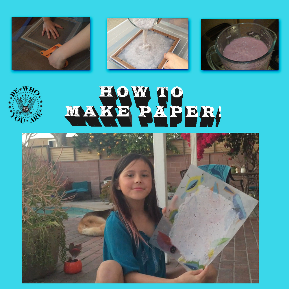 Thumbnail for the post titled: How To Make Paper!