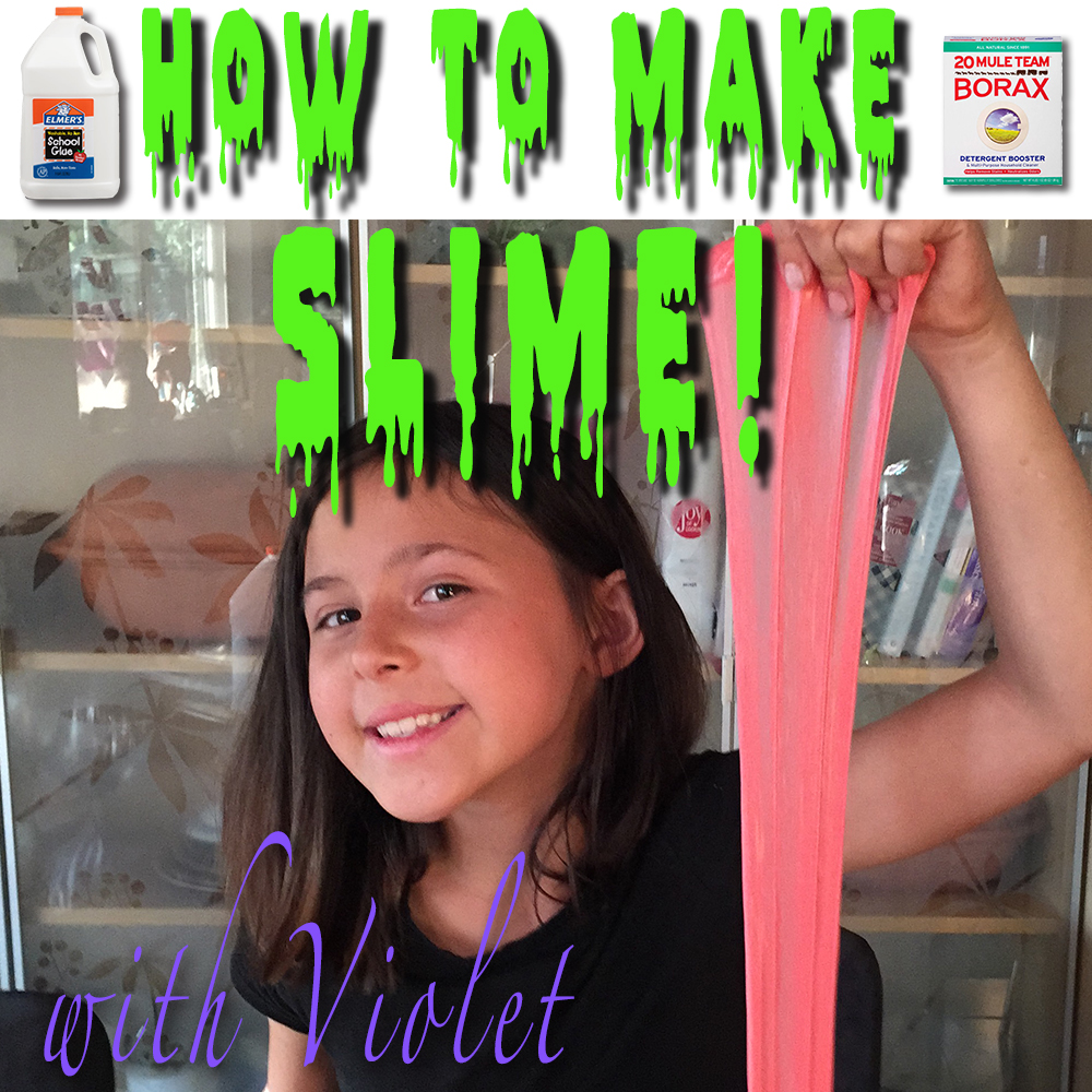 Thumbnail for the post titled: How To Make Slime! with Violet