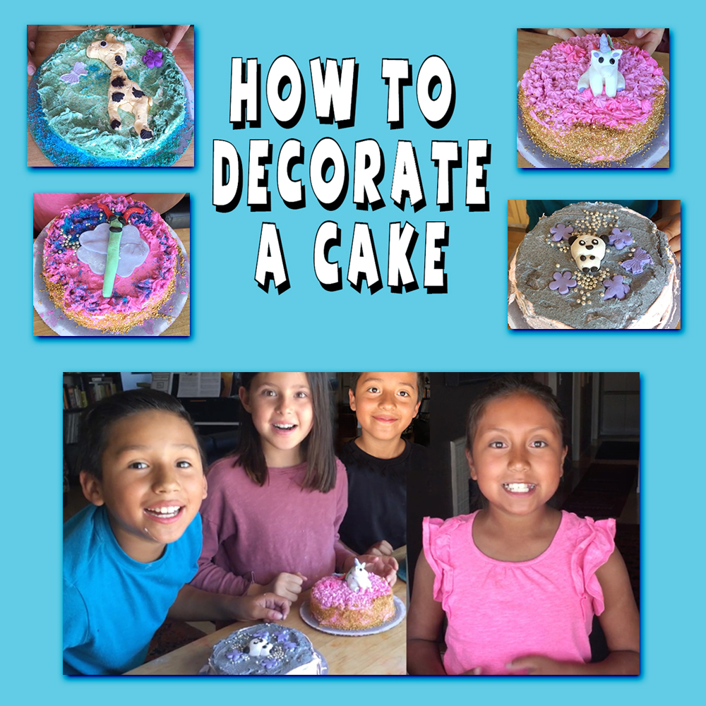 Thumbnail for the post titled: How To Decorate A Cake