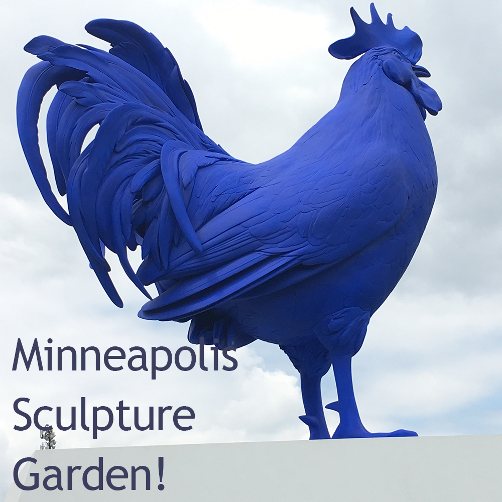 Thumbnail for the post titled: Minneapolis Sculpture Garden!