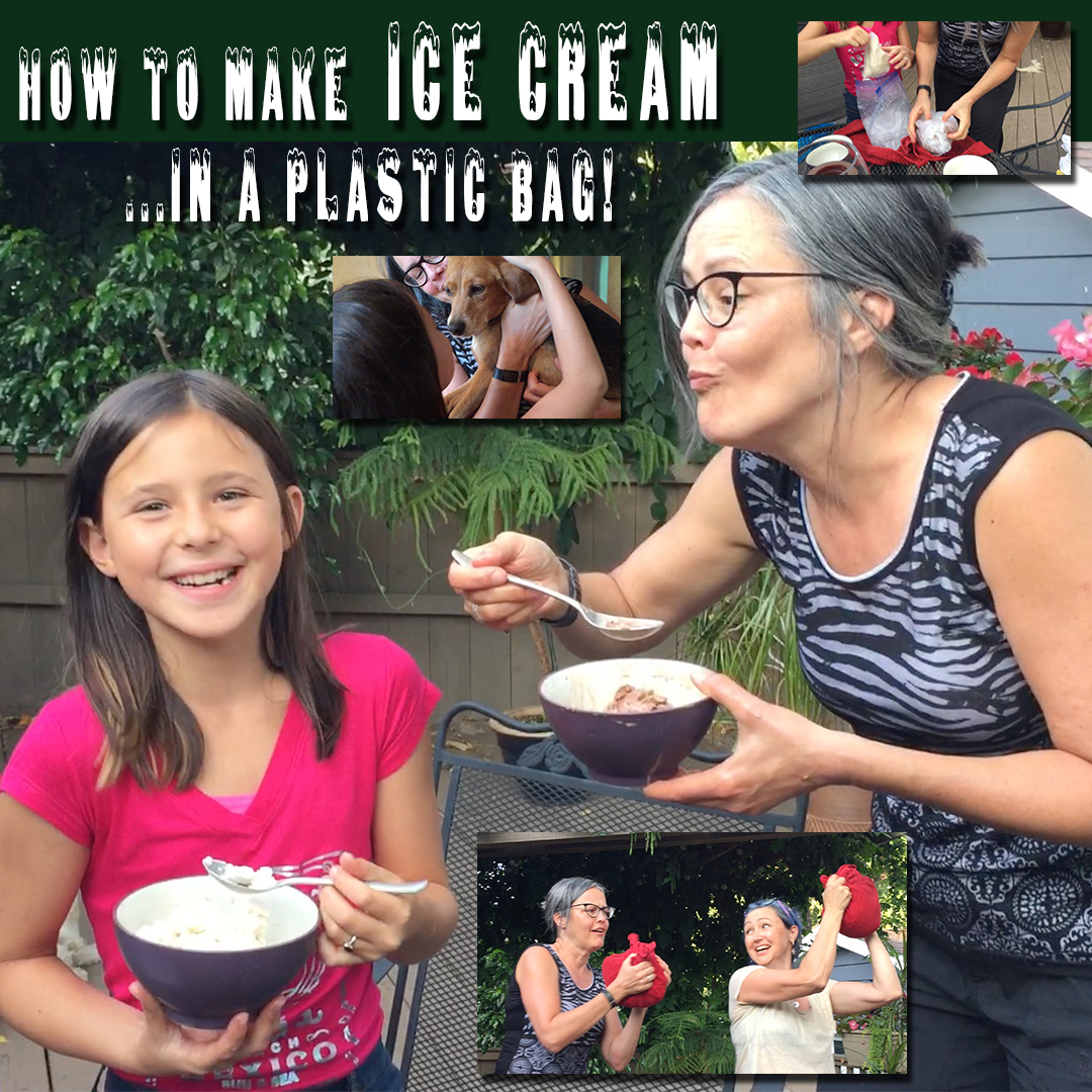 Thumbnail for the post titled: How To Make Ice Cream In A Plastic Bag
