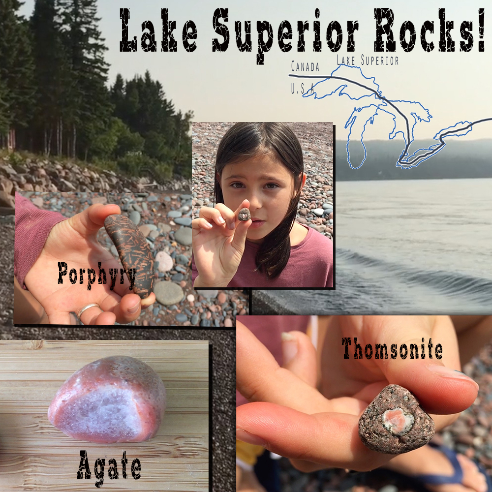 Thumbnail for the post titled: Lake Superior Rocks!