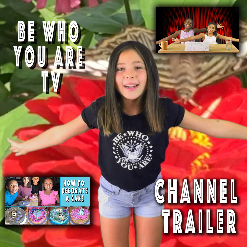 Thumbnail for the post titled: Be Who You Are Channel Trailer