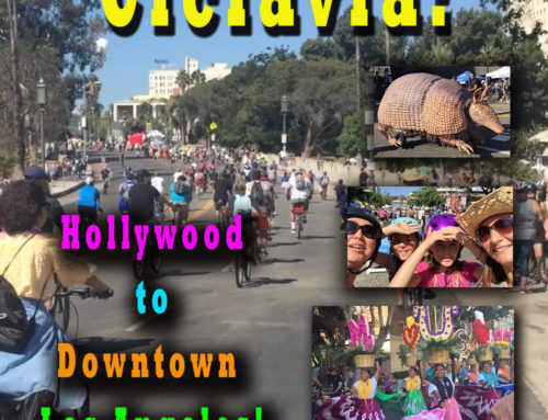 Ciclavia! Hollywood to Downtown Los Angeles