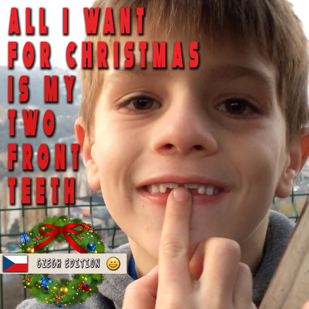 Thumbnail for the post titled: All I Want For Christmas is my Two Front Teeth