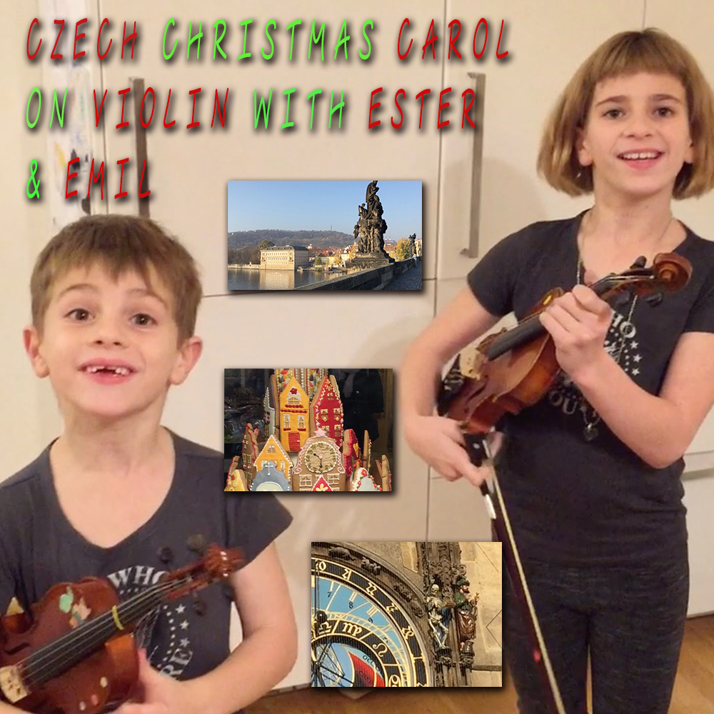 Thumbnail for the post titled: Czech Christmas Carol on Violin